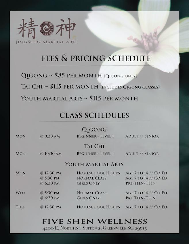 Flyer - JingShen Pricing